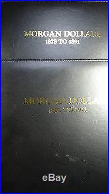 106 MORGAN COMPLETE SET 1879cc 1885cc 1889cc 1893s 1894p 1895s & o 1899p 1903o