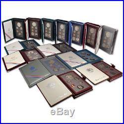 14-pc. 1983 1997 US Mint Prestige Proof Set Complete Set