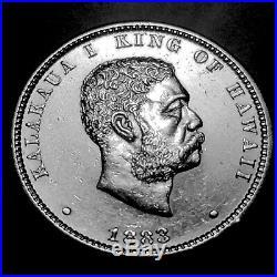 1847-1883 Complete Hawaiian Five Coin Set Ch/Gem BU Special Sale