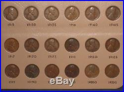 1909-2016 Lincoln Cent Complete -2 High Grade Set in Dansco Album with Proofs