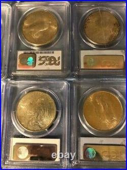 1921 1934 Peace Dollar NEAR COMPLETE MS 64 SET! SUPER RARE