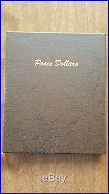 1921-1935 Complete Peace Dollar Set Borderline Uncirculated Condition