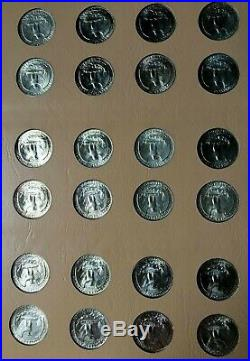 1932-1998 Washington Quarter 186 Coin Set P, D, S, S Complete High Quality Silver