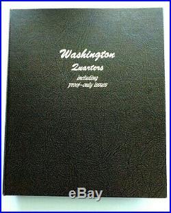 1932-1998 Washington Quarters Complete Set UNC + PROOF & Silver 186 Coins Total