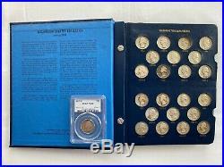 1932-2001 Complete PDS Washington Quarter Set Including Proofs