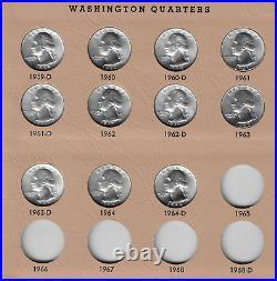1932-64 Washington Silver Quarter Complete Set Mostly BU-GEM BU