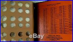 1932p-1998d Washington Quarter Complete 146 Coin Set P, D, S. 7140 Dansco Album