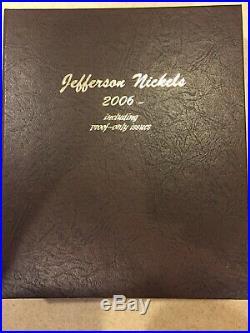 1938-2016 BU/PROOF Complete Jefferson Nickel Set In Dansco Album