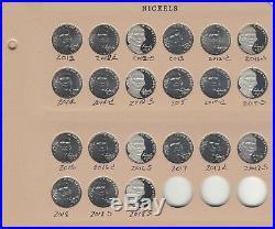 1938 2018 P/D/S Jefferson Nickel Complete Set 231 coins