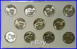 1942 1945 P, D, S 11 Coin Complete Choice Bu Set Of War Nickels