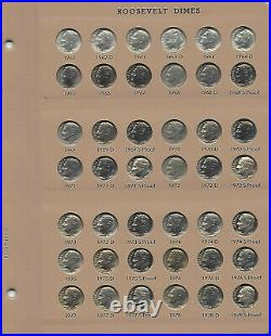 1946-1964-2021 Roosevelt Dime 245 Pc SetComplete UNC & Proofs Dansco 8125