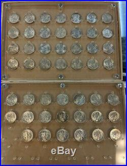 1946-1964 P, D, S Complete Roosevelt Dime Set Choice Bu Free Shipping