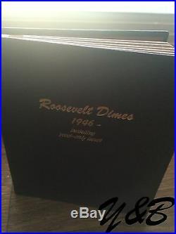 1946 2011 P D S ROOSEVELT SILVER DIME PDS + SILVER PROOF Complete SET Dansco