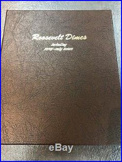 1946-2014 COMPLETE Roosevelt DIME SET All BU Clad and Silver Proof Dansco Album
