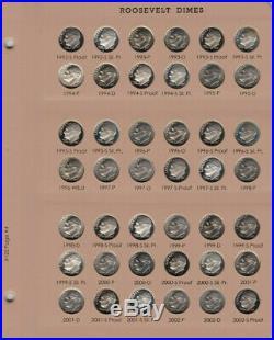 1946-2019 PDSS Roosevelt Complete UNC BU Gem Proof Clad & Silver Set