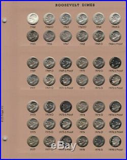 1946-2020 PDSS Roosevelt Complete UNC BU Gem Proof Clad & Silver Set
