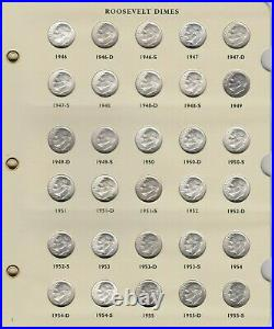 1946-2021 PDSS Roosevelt Complete UNC BU Gem Proof Clad & Silver Set