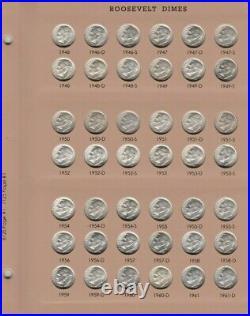 1946-2021 PDSS Roosevelt Complete UNC BU Gem Proof Clad & Silver Set. Read P. S