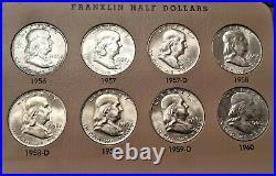 1948-1963 Franklin DANSCO COMPLETE SET TRUE GEM BU- MS63 49-S INCLUDED