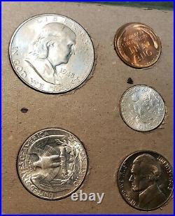 1948 US Mint Set Rare Complete Uncirculated Double Mint Set