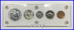 1953 Proof Set In White Capital Plastics Holder Complete 5-coin U. S. Proof Set