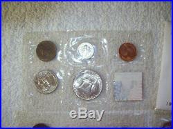 1954 Mint Set P, D And S Mints Complete 15 Coin Set