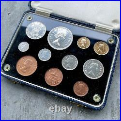1955 South Africa with Gold Coin Complete Proof Set! Mintage 900 Sets