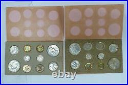1957-p & D Complete Us Mint Coin Set