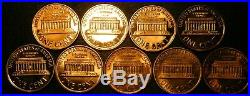 19592019 S Lincoln Penny Choice Gem Proof Run 64 Coin Complete Set US Mint Lot