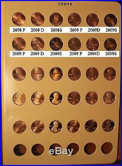 1959 2014 Lincoln Cent Memorial & Shield PDS Proof Coin complete set