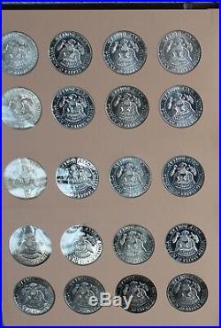 1964-2011 Kennedy Half Dollar Book Dansco Album #8166 Complete Set 158 Coins