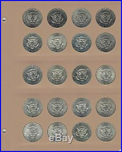 1964 2011 Kennedy Half Dollar Collection Complete 158 Pc Set-Unc P/D All Proofs