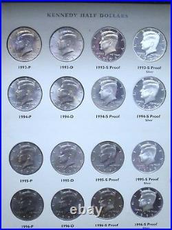1964 2012 Kennedy 50c Half Dollar Album Book Set COMPLETE
