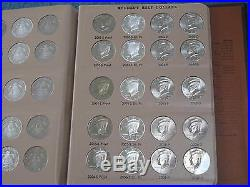 1964-2012-PDS Kennedy Half Dollar Complete Set of 160 Coins BU Proof and Silver