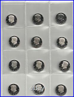 1964 2014 S Proof Kennedy Half Dollar Complete Set (include silver proof, SMS)
