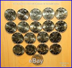 1964 2018 Kennedy Half P&D 116 Coin COMPLETE Uncirculated & Satin Set wSilver