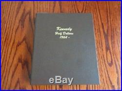 1964 2019 COMPLETE BU/Satin. P AND D KENNEDY HALF Dollar Set In Dansco Album