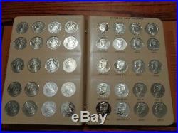 1964-2019 Kennedy Half Dollar COMPLETE SET (190 Coins with Dansco Albums)