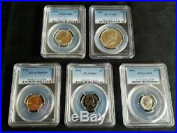 1964 Complete Proof Set PF69 PCGS with UNOPENED Flat Pack Proof Set Included