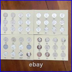 1965-1971-2011S Complete Silver/SMS Clad Kennedy Proof 46 Pc Set 6 Silver Proofs