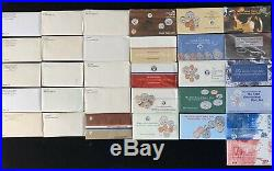 1968-1999 First 30 Years United States Us Mint Set (30) Complete Sets P&d Mint