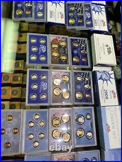 1968 2010 Proof Set U. S. Mint 42 Proof Sets San Francisco coins ogp COA complete