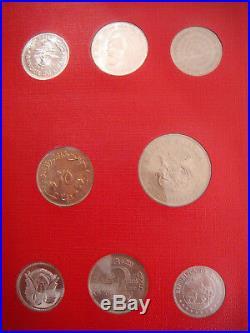 1968 FAO World Coin Set Collection & Album Complete 52 coins Set Collection RARE
