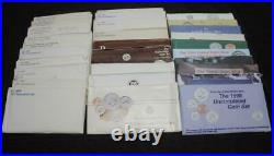 1968 to 1998 U. S. Mint sets. Complete P and D ORIGINAL SETS FREE SHIPPING