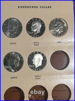 1971-1978 Complete Eisenhower Dollar Set