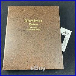 1971-1978 Eisenhower Dollar 32-Coin Complete Set Including Proof Only Dansco