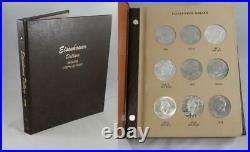 1971-1978 Eisenhower IKE Complete BU PROOF Silver 32 Coin Set in Dansco B0189