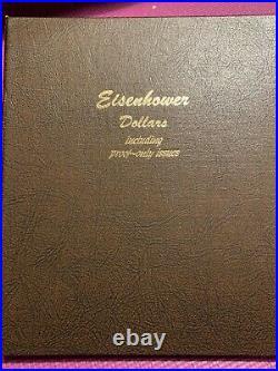 1971 1978 Eisenhower IKE Dollar Complete Set of 32 with Proofs in Dansco Album