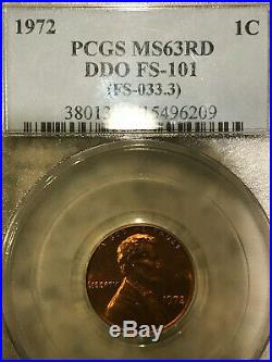 1972 Lincoln Cent Double Die, NO RSV! COMPLETE SET DDO 1-9 PCGS ANACS With FS-104