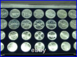 1976 Canada Olympic Complete Set 14 x $5 14 x $10 Sterling Silver Coins